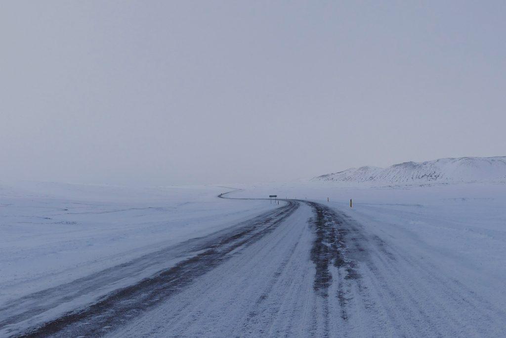 IJsland in winter